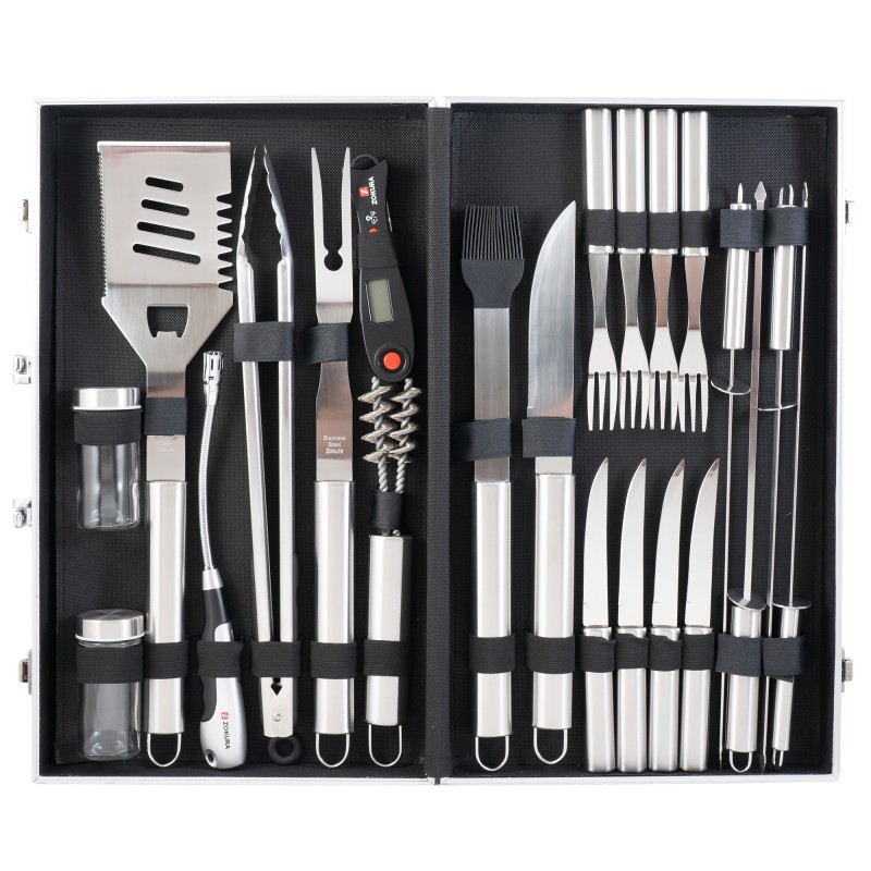 24 Piece BBQ Tools