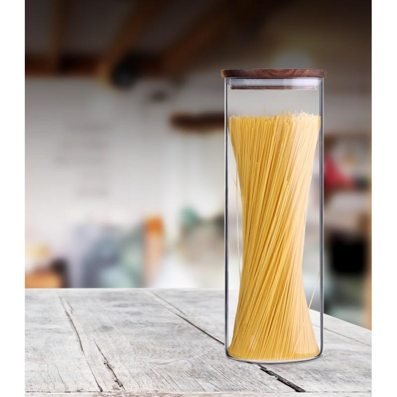 Borosilicate glass jar 1850 ml
