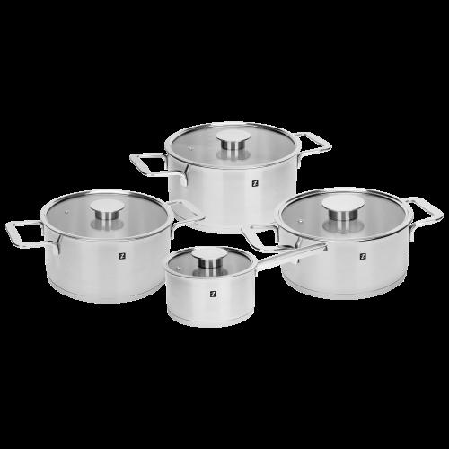 Set vase de gătit cu 8 piese