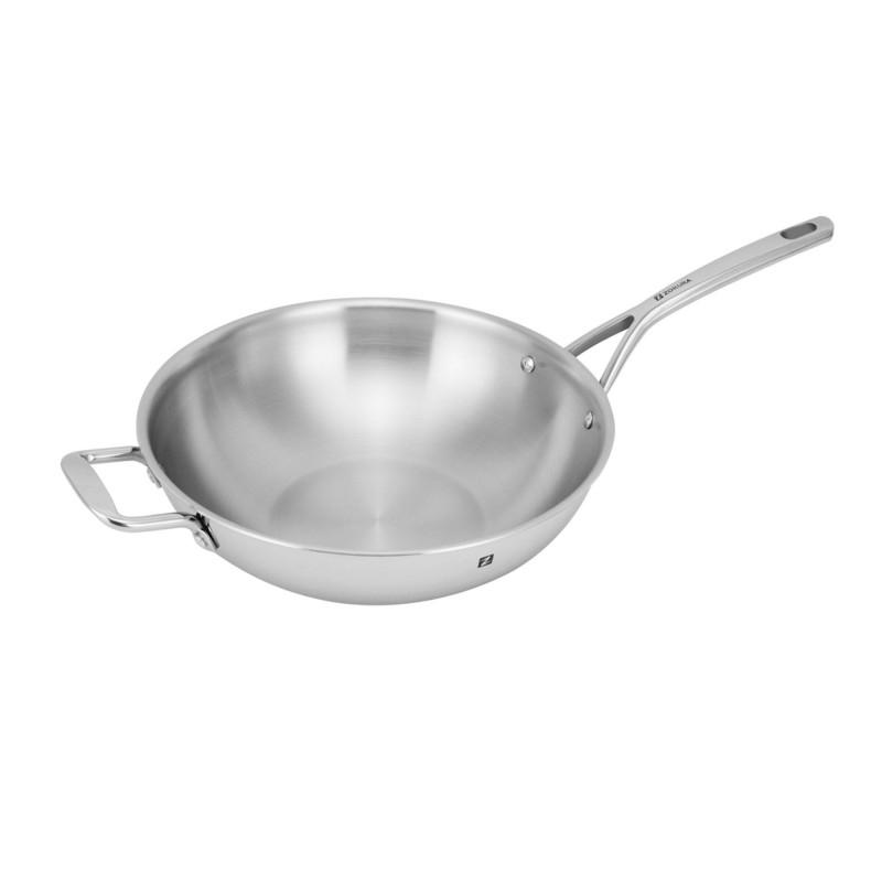 Tigaie wok 3-ply 30 cm