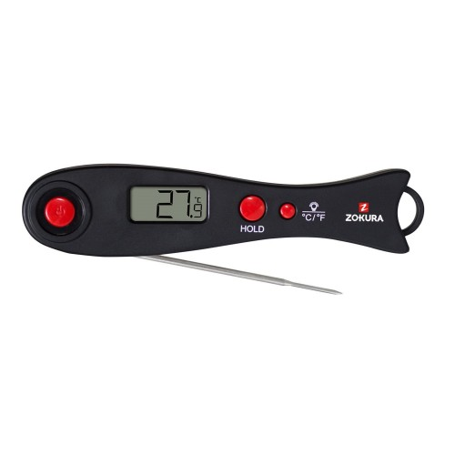Foldable thermometer, instant read